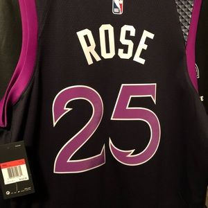 info for 93a85 235f3 Minnesota Timberwolves Derrick Rose Prince Jersey NWT